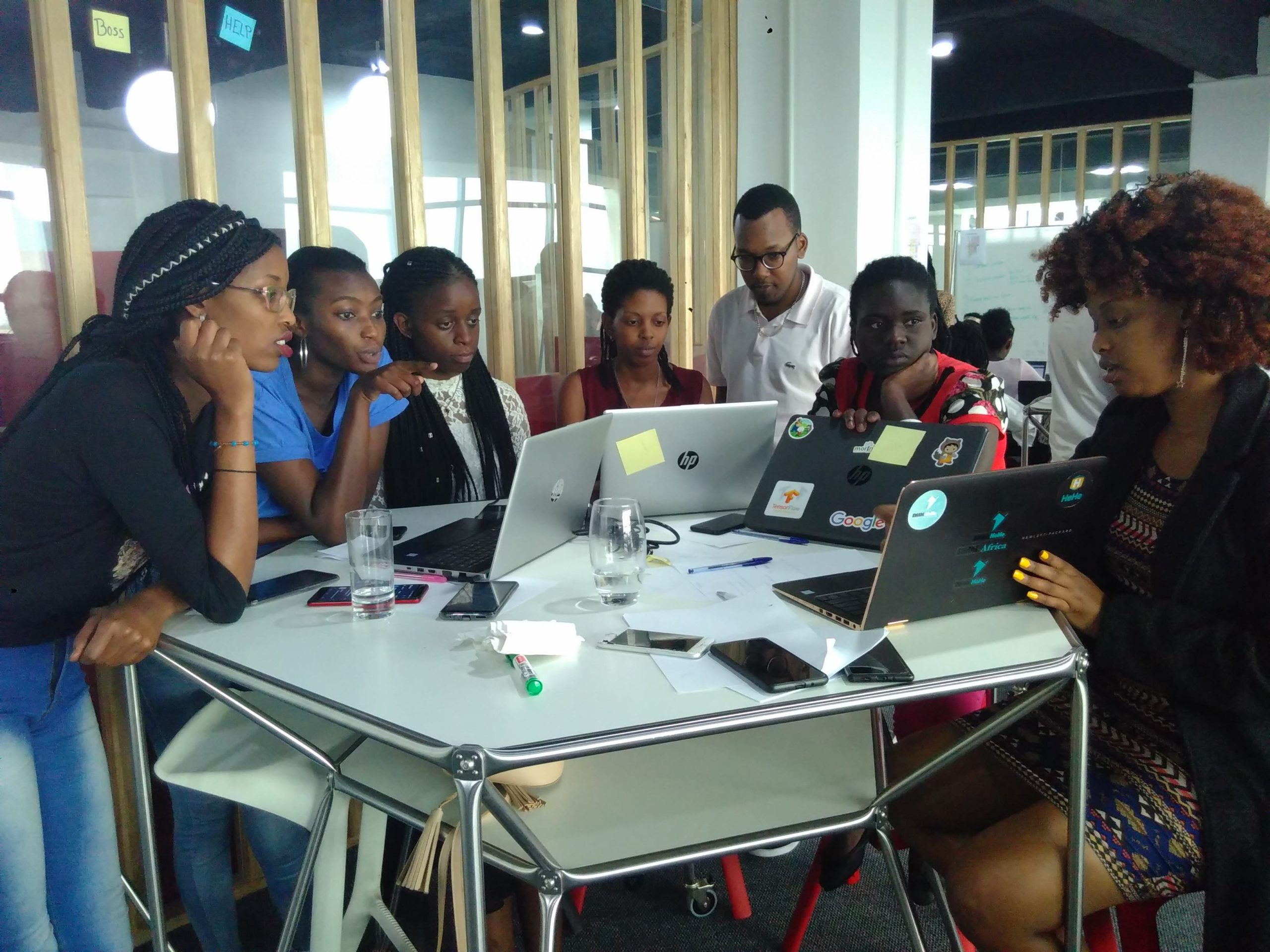 Group Discussion at Code + Design Camp